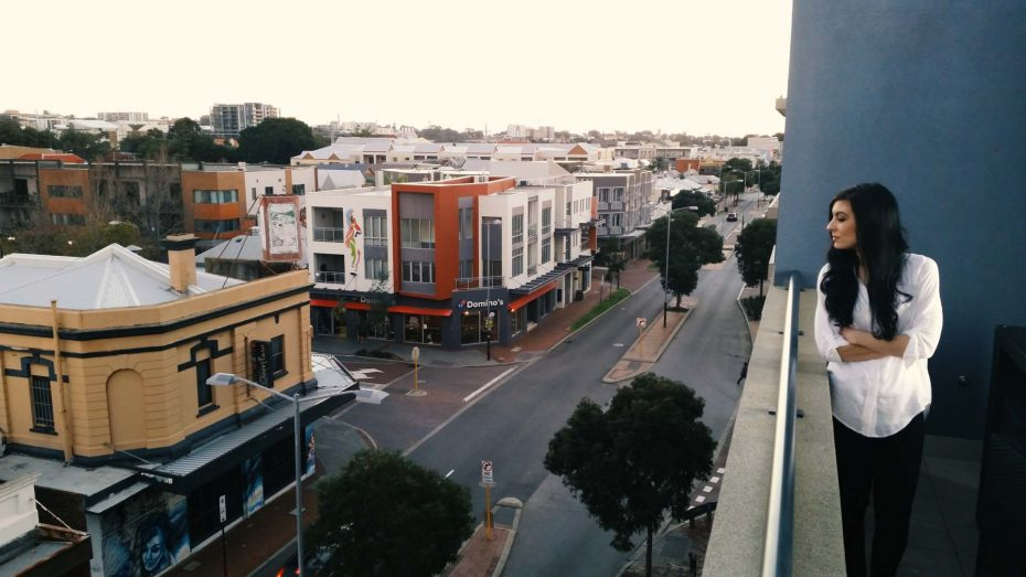 Northbridge apartment view