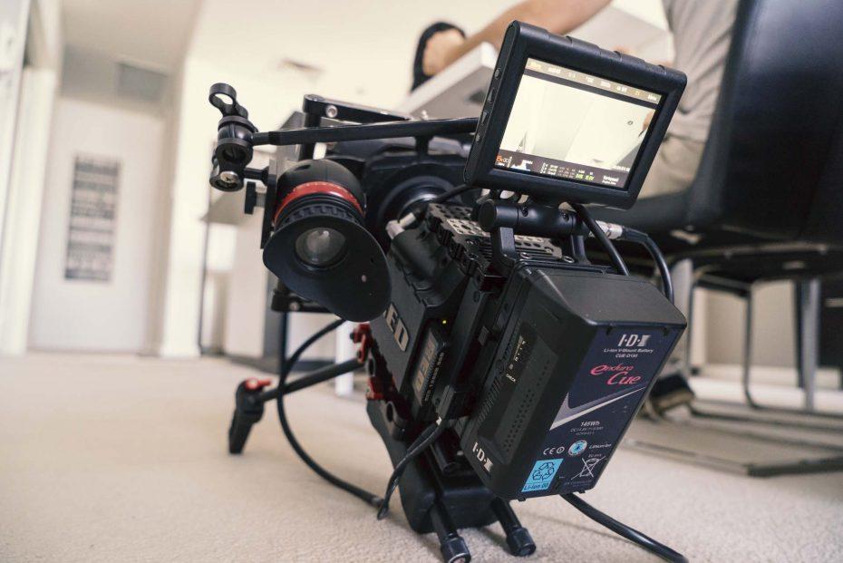 First music video shoot using the Zacuto gratical eye
