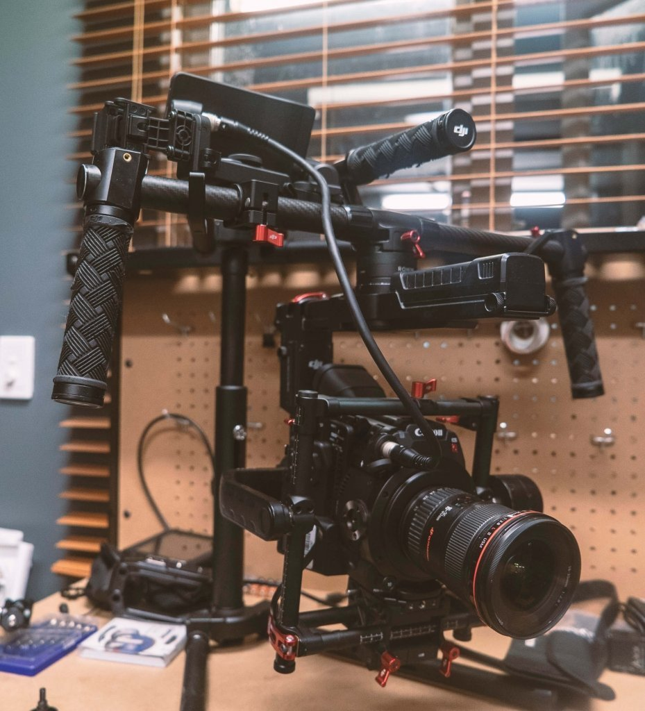 Canon C200 on our Ronin-MX